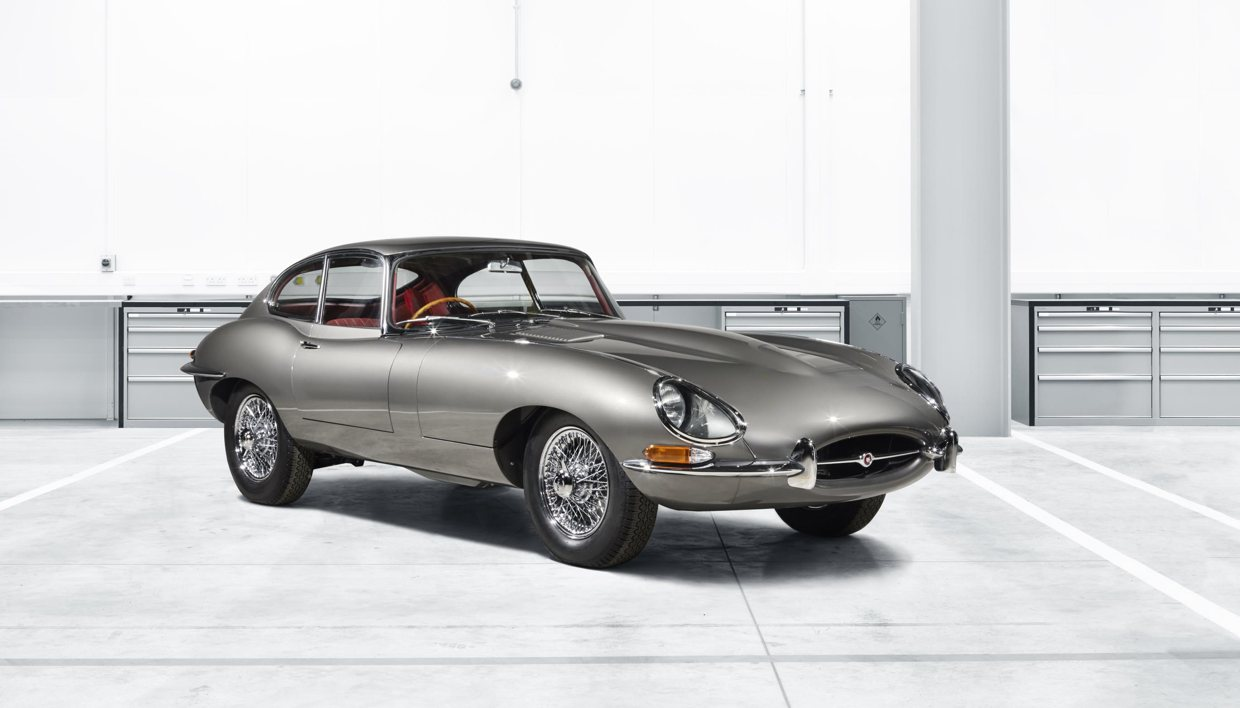 jaguar classic to debut reborn e type at techno classica essen show just british. Black Bedroom Furniture Sets. Home Design Ideas