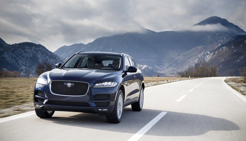 Jaguar F-Pace Dark Sapphire