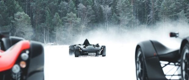 BAC Mono supercars hit the ice in Sweden