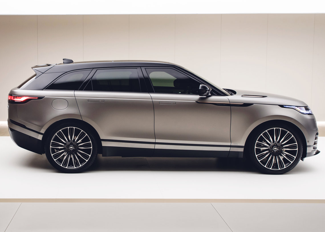 Land Rover's New Range Rover Velar Unveiled