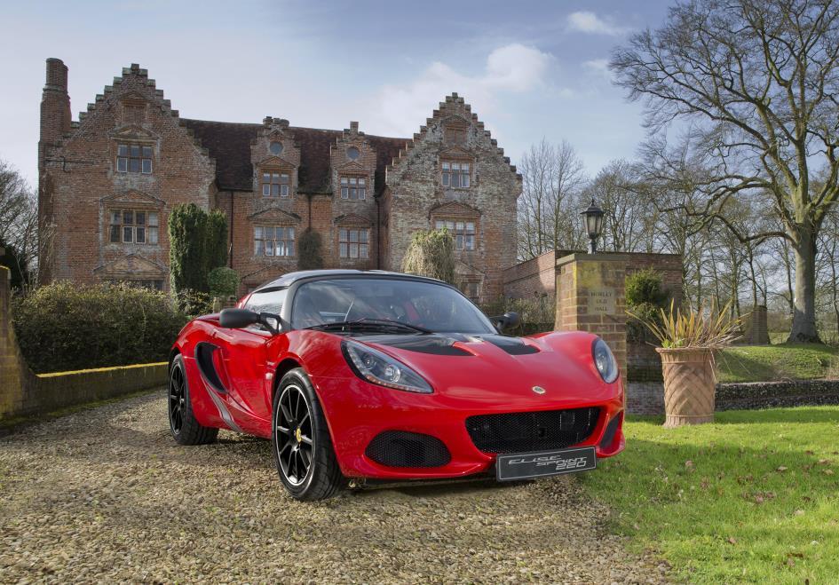 Lotus Elise Sprint 220 Front 3Qtrs Med Res (1)