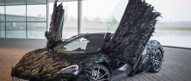 McLaren takes a flyer on new feathered body wrap