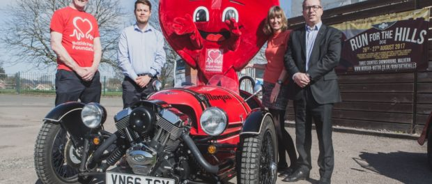Morgan Motor Company Announces British Heart Foundation as Its Charity Partner for 2017