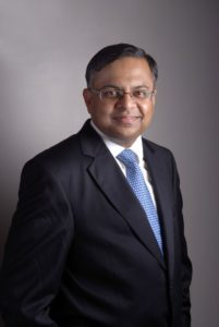 Natarajan Chandrasekaran has been appointed Director and Chairman of the Jaguar Land Rover Automotive plc board