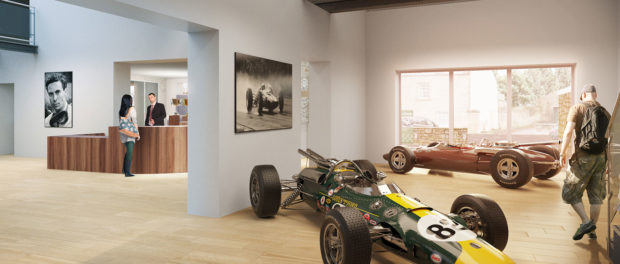 New Jim Clark Museum Interior