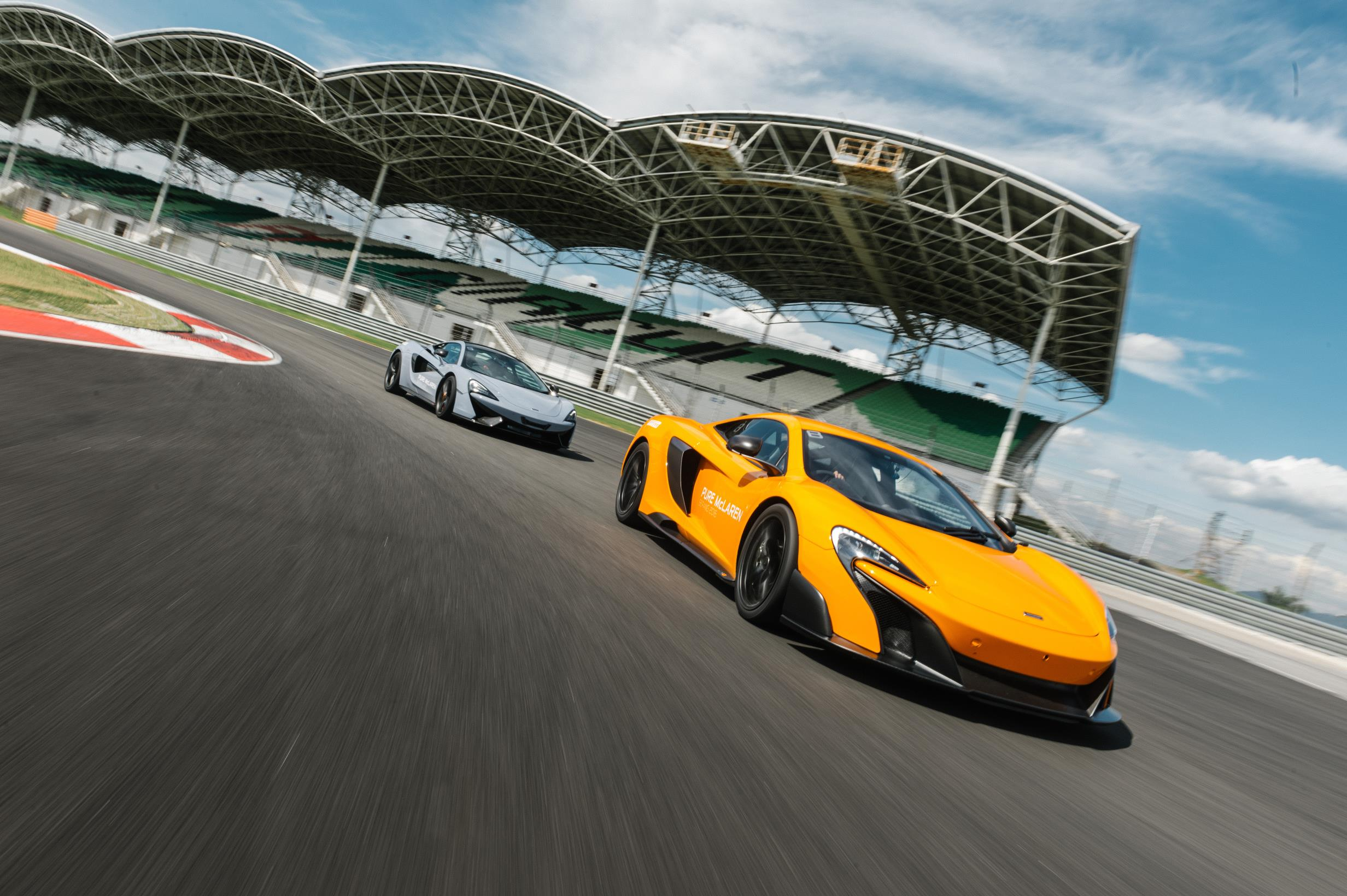 Pure McLaren Race Academy aims to transform track day regulars into racing drivers 3