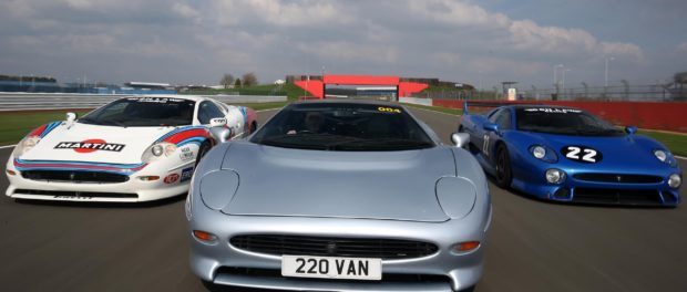 The Jaguar XJ220 will be the star of a record-breaking parade at this summer's Silverstone Classic
