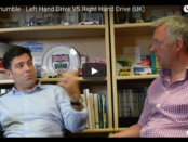 VotW - Right Hand Drive vs Left Hand Drive from the Other Side of the Pond