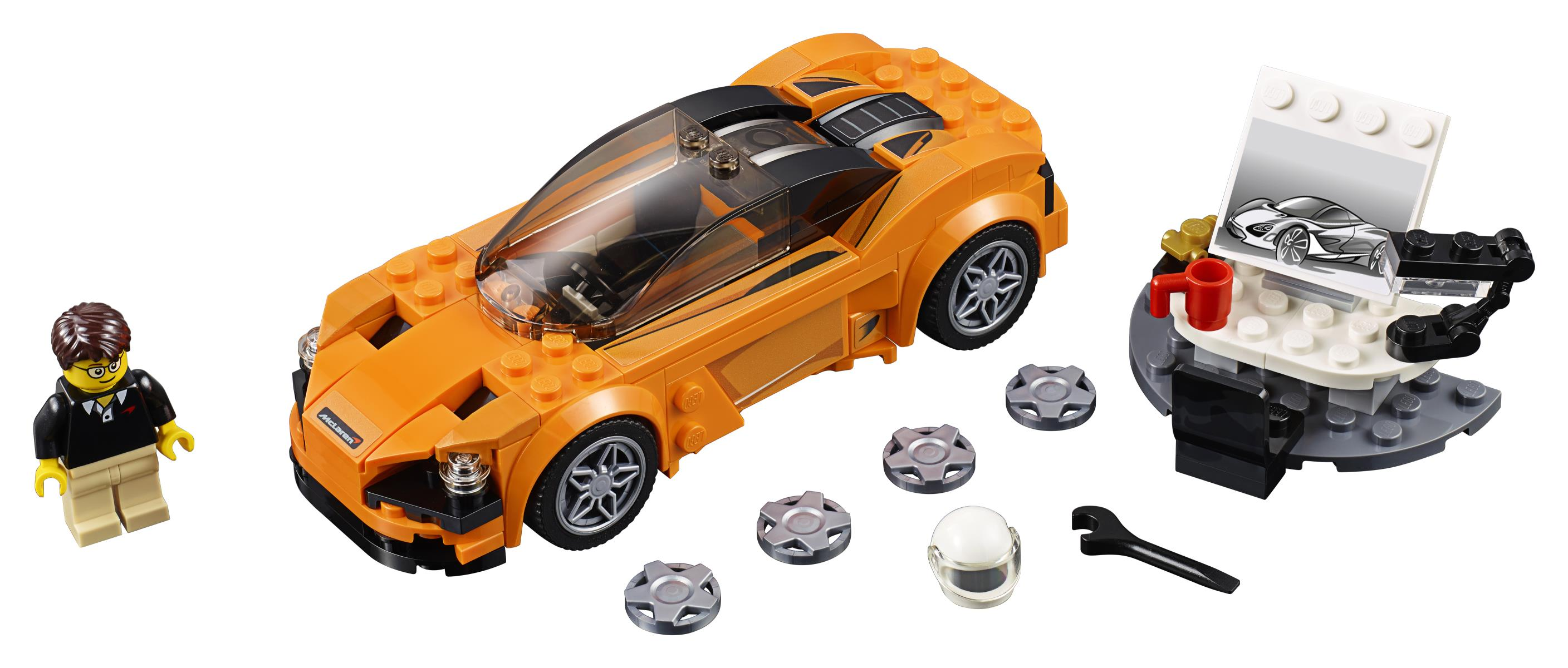 new mclaren 720s for the lego generation just british. Black Bedroom Furniture Sets. Home Design Ideas