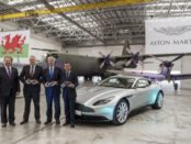 Aston Martin Begins St Athan's Conversion for SUV Production