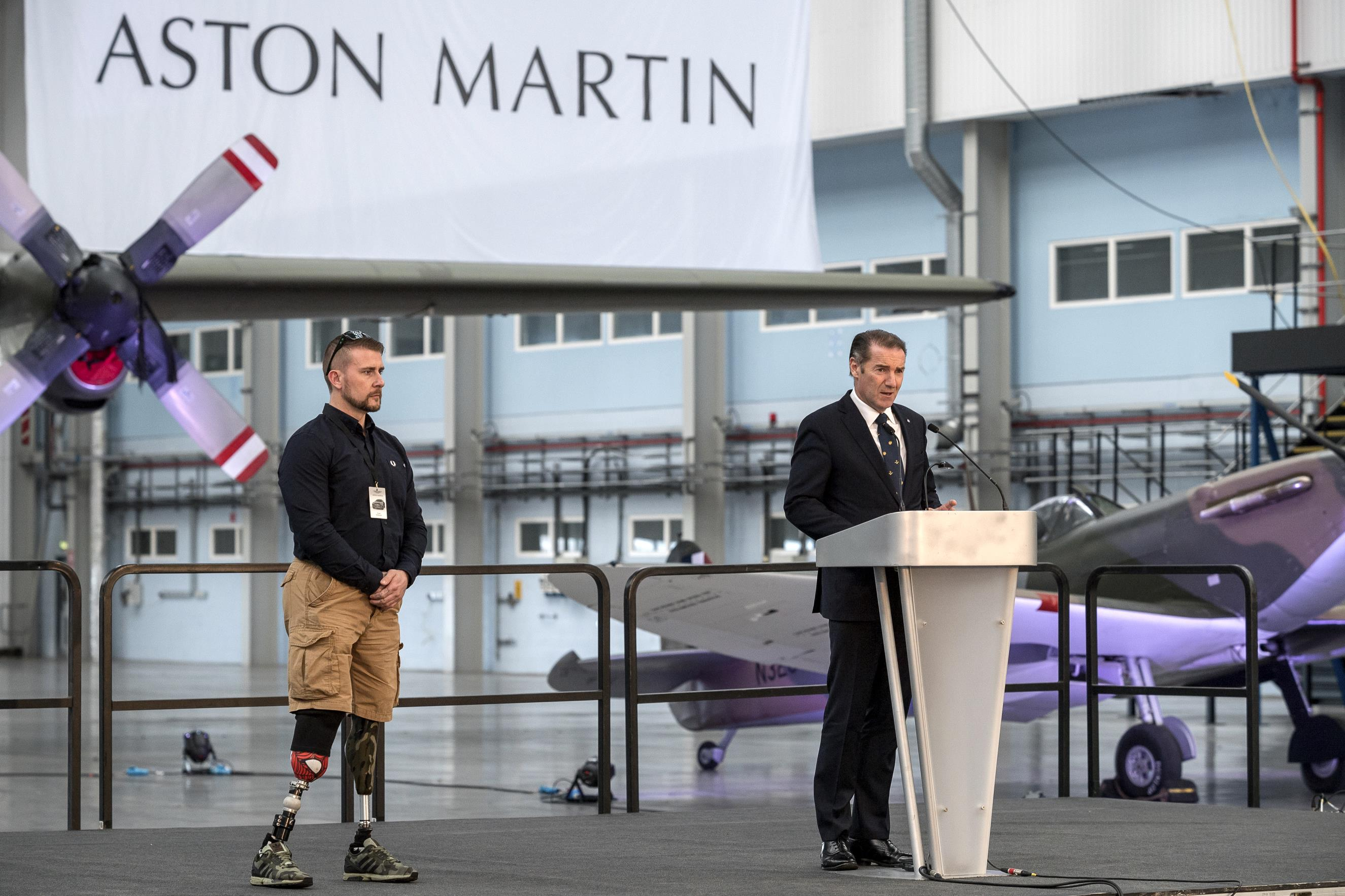 Aston Martin partnership with the Royal Air Force Benevolent Fund