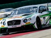 Bentley Finishes in Second Place in Misano