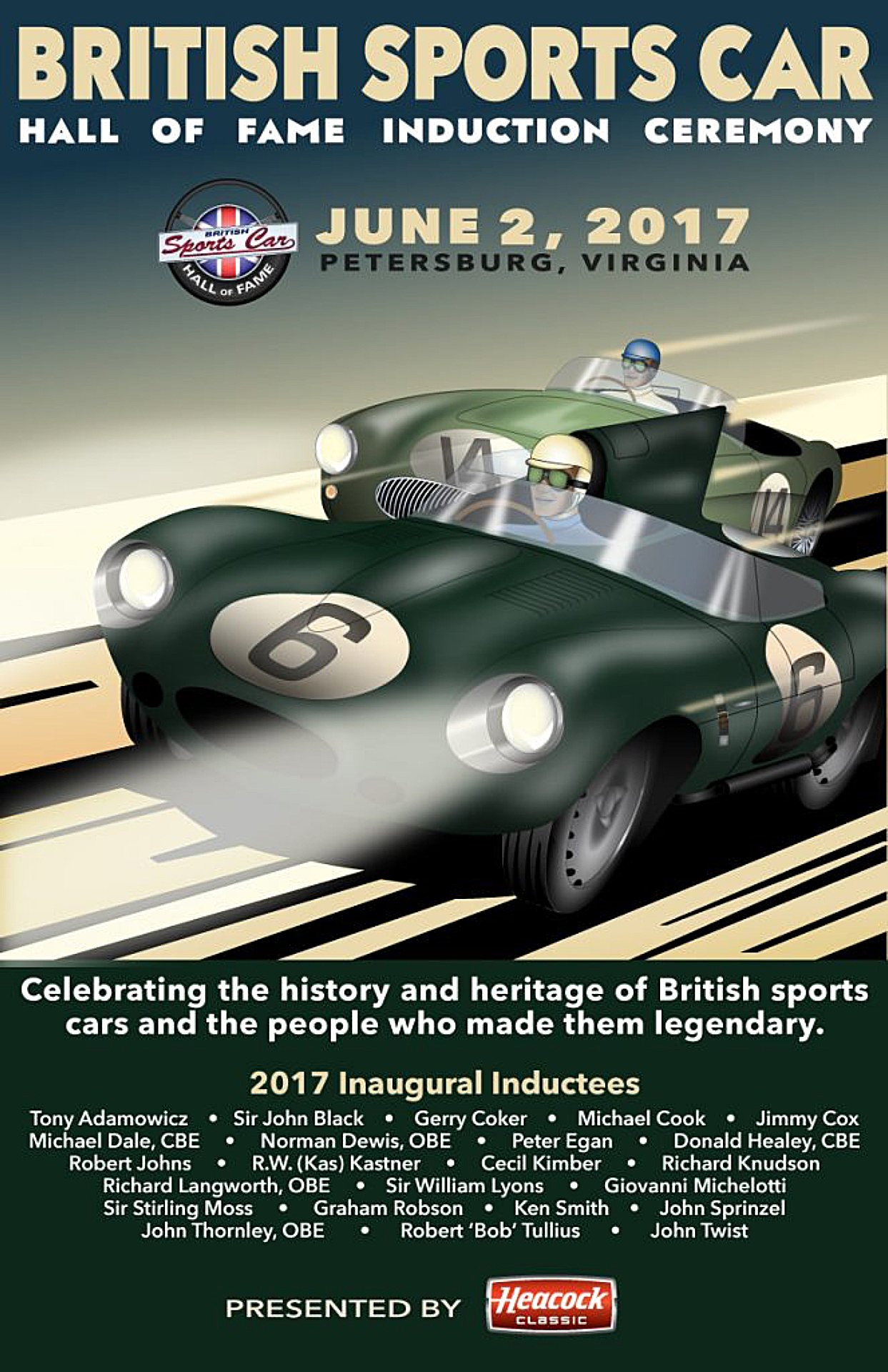 British Sports Car Hall of Fame Induction Ceremony - Just British