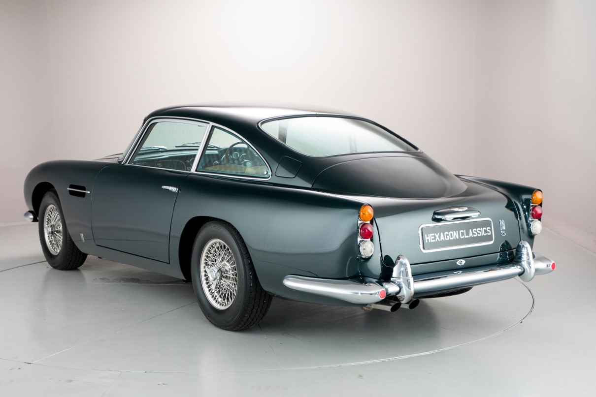 Ex-Aga Khan Aston Martin to DB5 be Auctioned