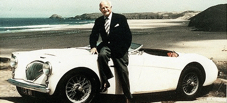 Donald Healey, CBE - Hall of Fame Inductee