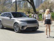 Ellie Goulding drives new Range Rover Velar in New York 3