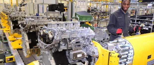 Jaguar Land Rover Engine Manufacturing Celebrates Ingenium Petrol Engine 2