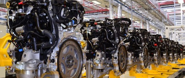 Jaguar Land Rover Engine Manufacturing Celebrates Ingenium Petrol Engine 5
