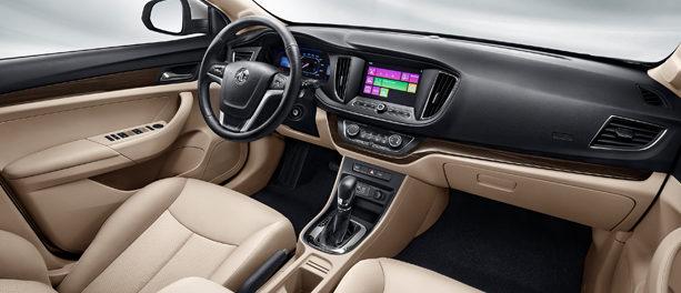 MG 360 Interior