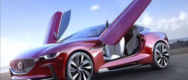 MG E-Motion Electric Supercar Concept Revealed