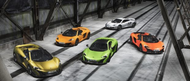 McLaren P11 Super Series family