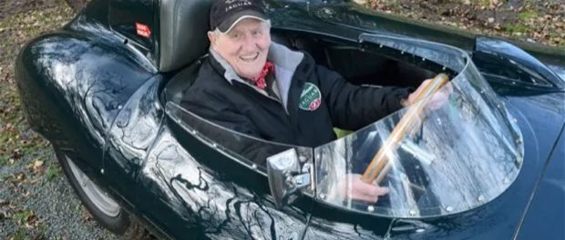 Norman Dewis, famed Jaguar test driver