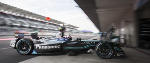 Panasonic Jaguar Racing Stays Cool to Take Maiden Points in Mexico City - Adam Carroll Enters Garage 01-04-17
