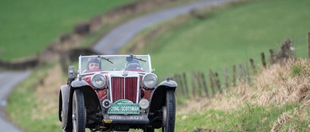 Paul Crosby and Ali Proctor Win Flying Scotsman in 1939 MG TB