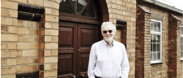 Peter Egan at the Morgan Factory