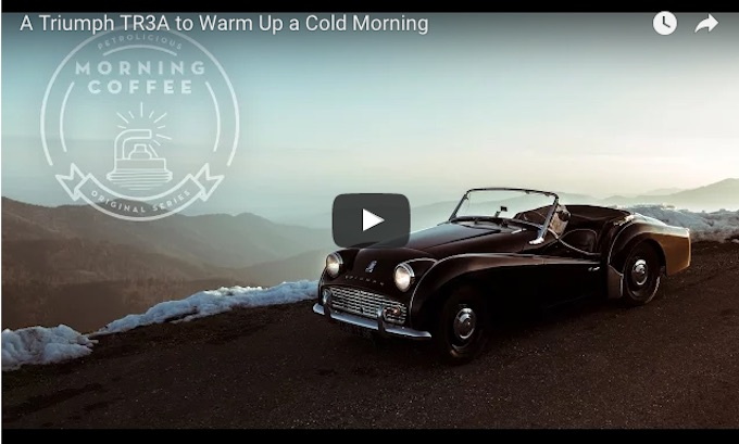 VotW - A Triumph TR3A to Warm Up a Cold Morning