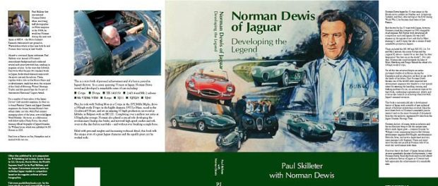 Norman Dewis of Jaguar: Developing the Legend Hardcover – by Paul Skilleter