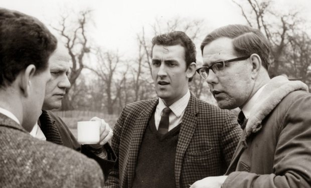 1964 Spitfire Le Mans testing, with David Hobbs and Peter Bolton