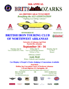 Arkansas British Car Show in the Ozarks