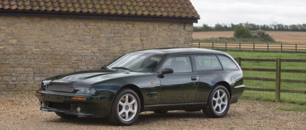 A 1996 Aston Martin V8 Sportsman Estate Car sold for £337,500 at auction.