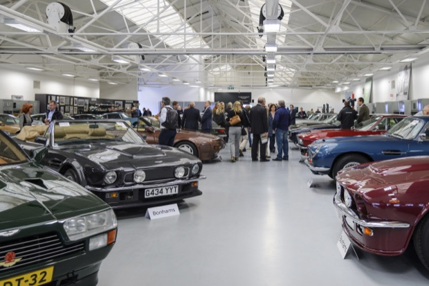 Aston Martin Works Bonhams 2017 Auction