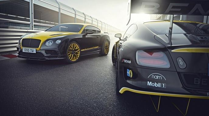 BENTLEY PREPARES CARS FOR RACE AND ROAD AT NÜRBURGRING 24H