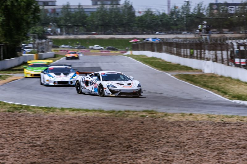 Double victory for the McLaren 570S GT4 on China GT Championship