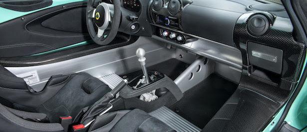 Elise Cup 250 Interior