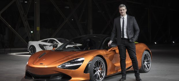 Rob Meville McLaren Design Director with 720S