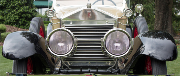 Howard Hughes Rolls-Royce Silver Ghost Wins Pinehurst Concours - Front
