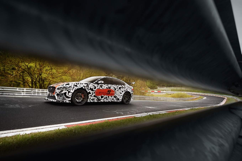 Jaguar XE SV Project 8 prototype testing Nurburgring World Copyright: Patrick Gosling / Beadyeye