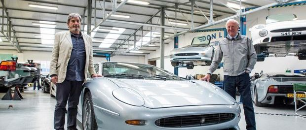 Keith Helfet and Jim Randle reunited with their stunning XJ220