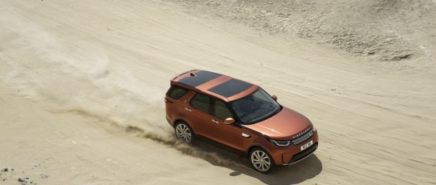 Land Rover Launches Marketing Campaign for the New Discovery