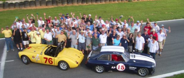 MG Vintage Racers At New Jersey Motorsports Park