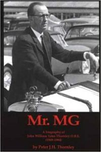 Mr MG by Peter Thornley