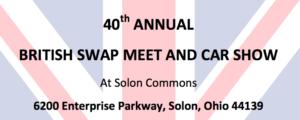 NEOAHC British Swap Meet & Car Show
