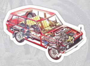 Range Rover Classic Cutaway