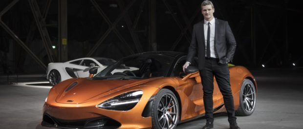Rob Melville McLaren Design Director with 720S