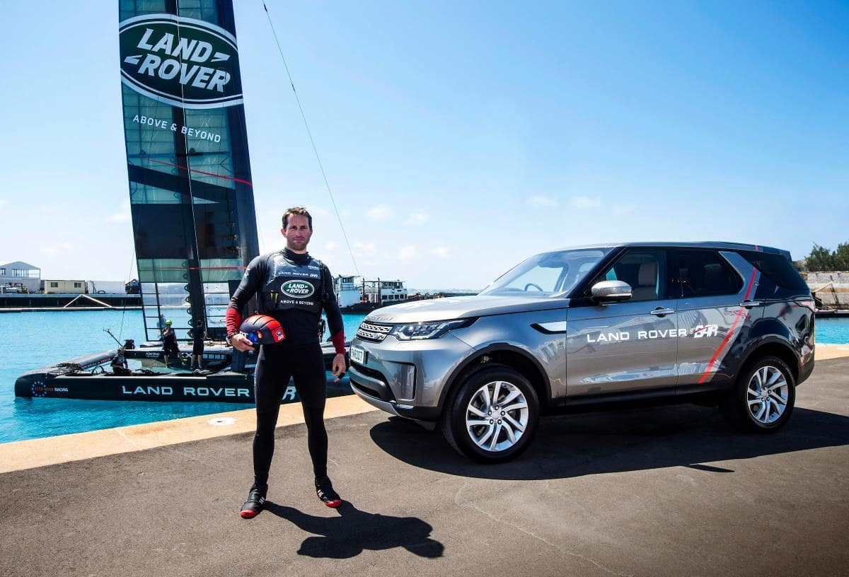 Sir Ben Ainslie and Land Rover Bar