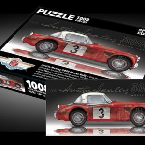 Sports Car Art - Austin Healey 3000 Puzzle